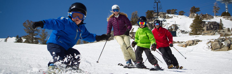 Resort at Squaw Creek_Recreation_Family Skiing