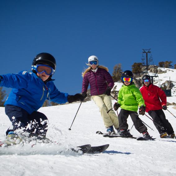 May Skiing in Tahoe