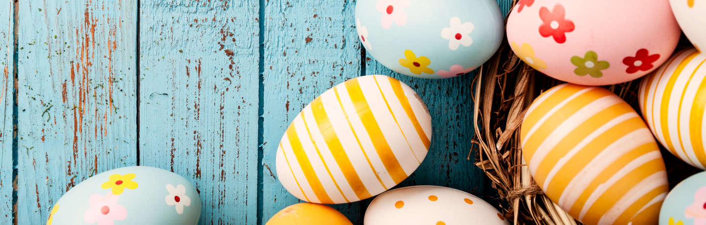 Easter Eggs and Easter lodging special at the Resort at Squaw Creek
