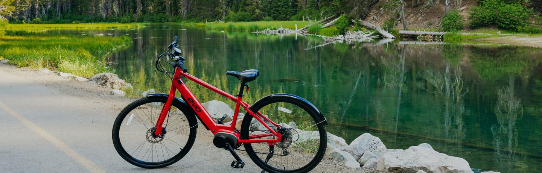 E Bike at Lake Tahoe