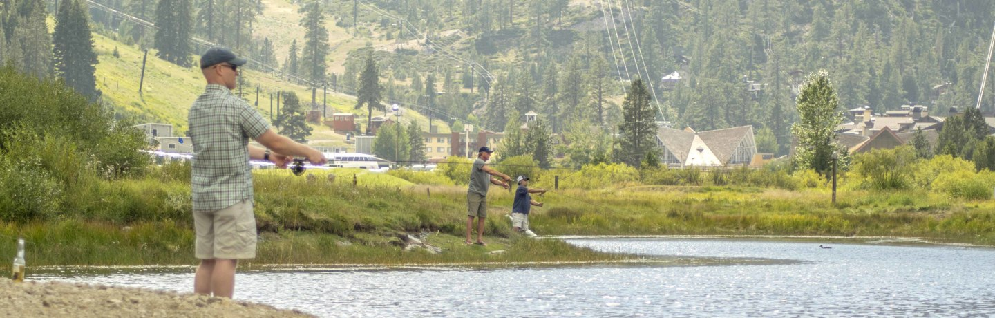 fly fishing in Squaw Valley