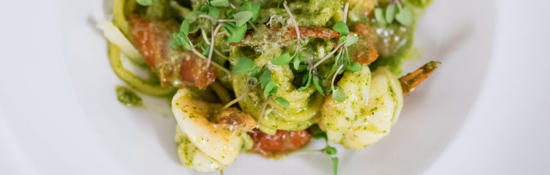 Shrimp Dish With Green Sauce