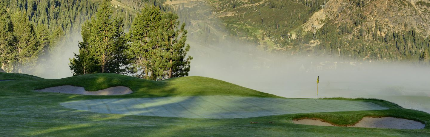 Fog On Resort At Squaw Creek Golf Course