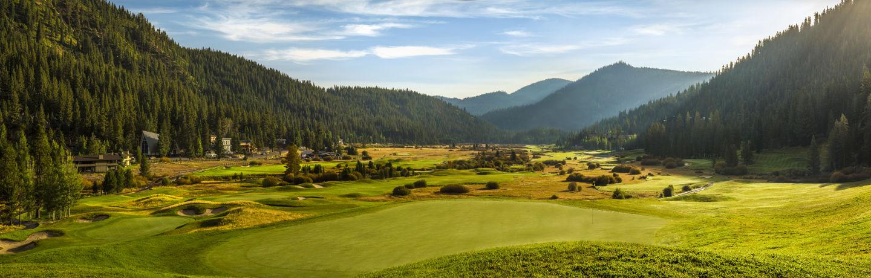 Panorama view of Links at Squaw Creek, Resort at Squaw Creek