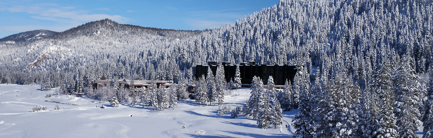 Resort At Squaw Creek During Winter