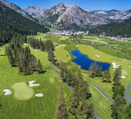 Aerial view of Resort at Squaw Creek