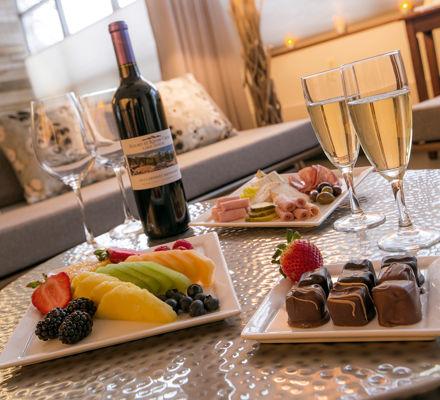 Champagne and Dessert