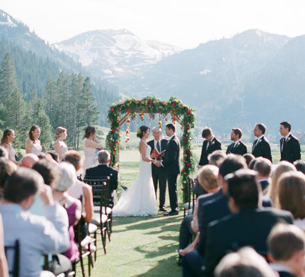 June 2016 wedding at Resort at Squaw Creek in Squaw Valley, CA