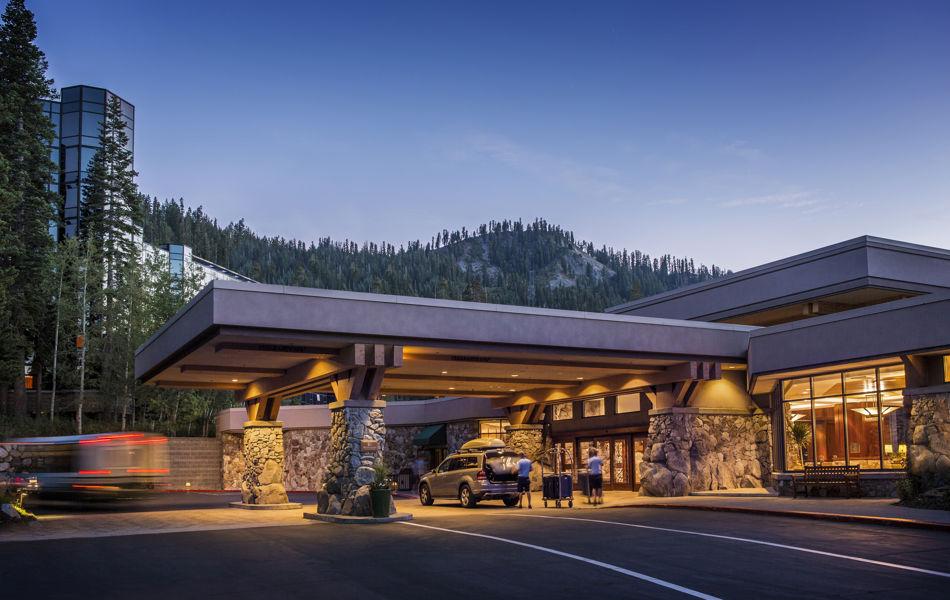 Exterior entrance, Resort at Squaw Creek
