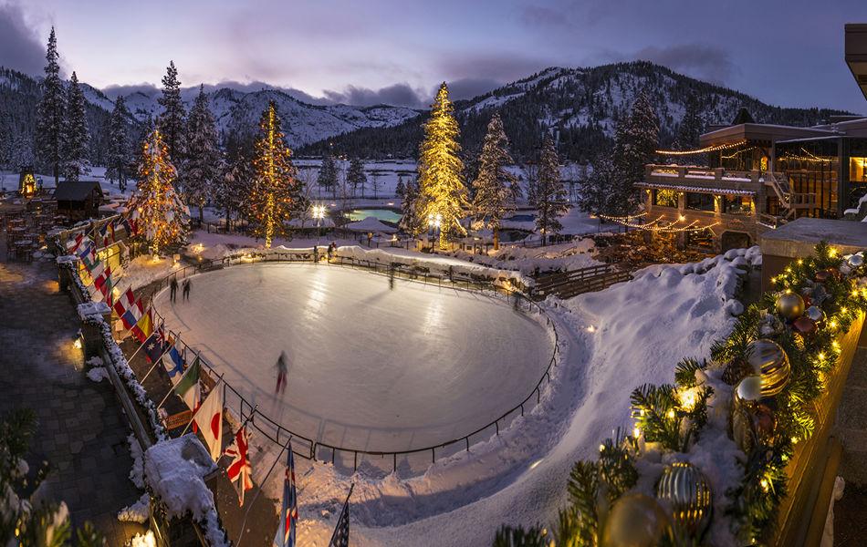 Resort at Squaw Creek_Exterior_Ice Skating Rink