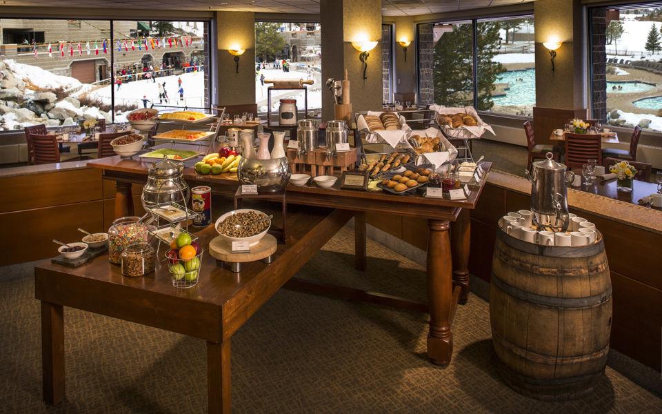 Cascades gourmet breakfast, Resort at Squaw Creek