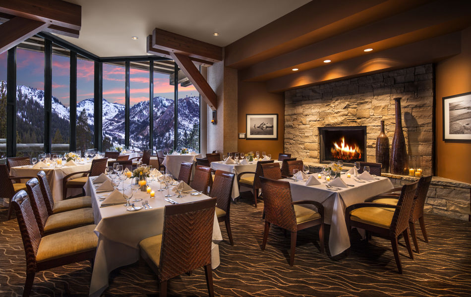 Private dining room Six Peaks Grille, Resort at Squaw Creek