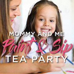 mommy and me paint and sip