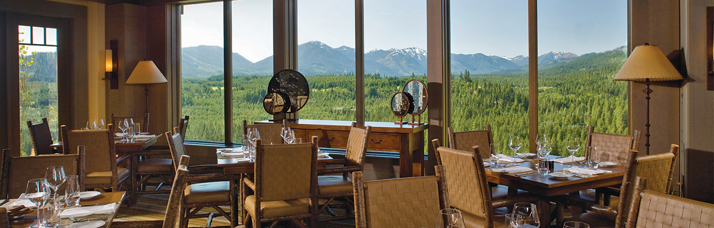 Dining at Suncadia Resort & Spa in Washington State