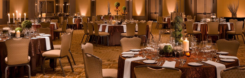 Dining Tables at Suncadia Resort & Spa in Washington