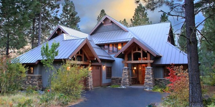 exterior view of suncadia vacation home