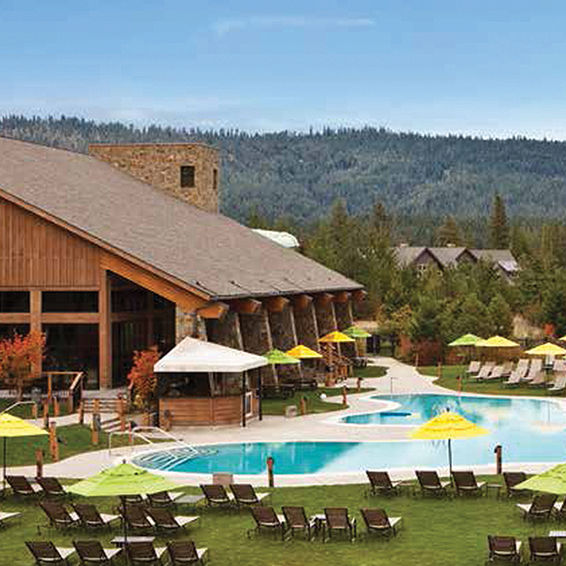 Relax At The Pool at Suncadia Resort in Washington State