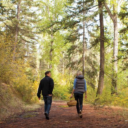 Hiking at Suncadia Resort in Washington State