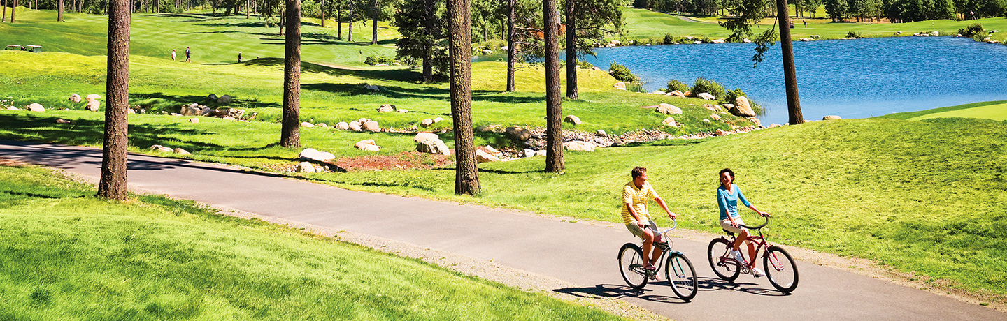 Biking at Suncadia Resort & Spa Near Seattle