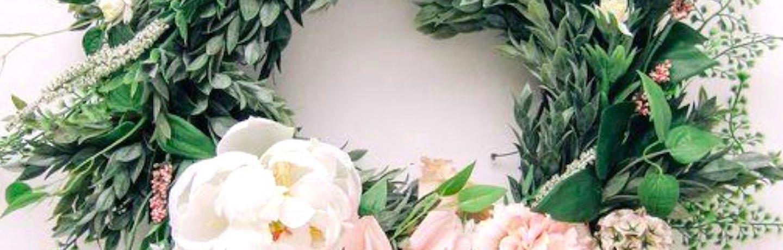 wreath header