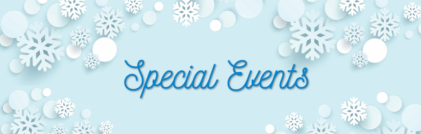 special events winter