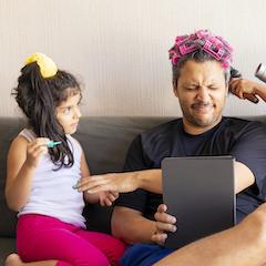 fathers day spa celebration