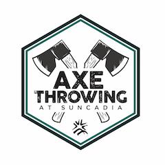 axe throwing icon