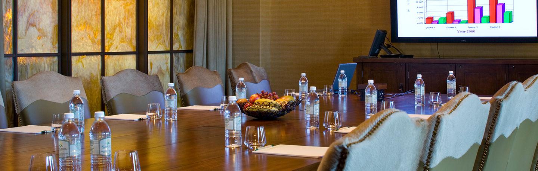 meeting boardroom at suncadia resort
