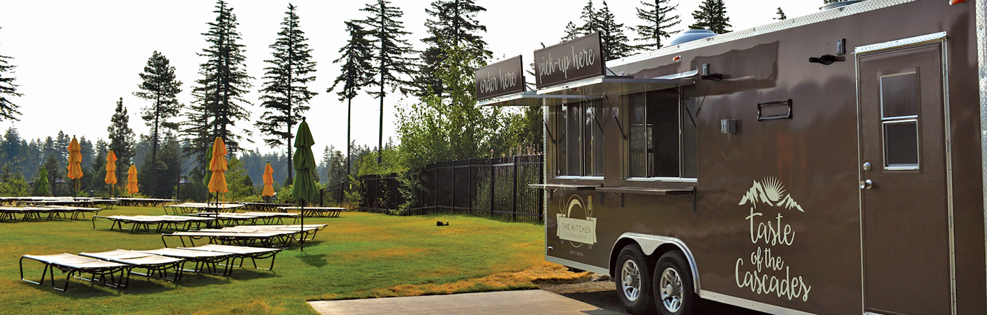 The Kitchen Food Truck at Suncadia Resort in Washington State