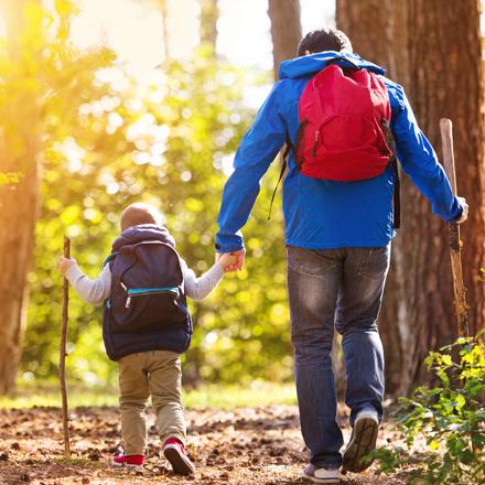 Suncadia Family Walk in Cle Elum, Washington