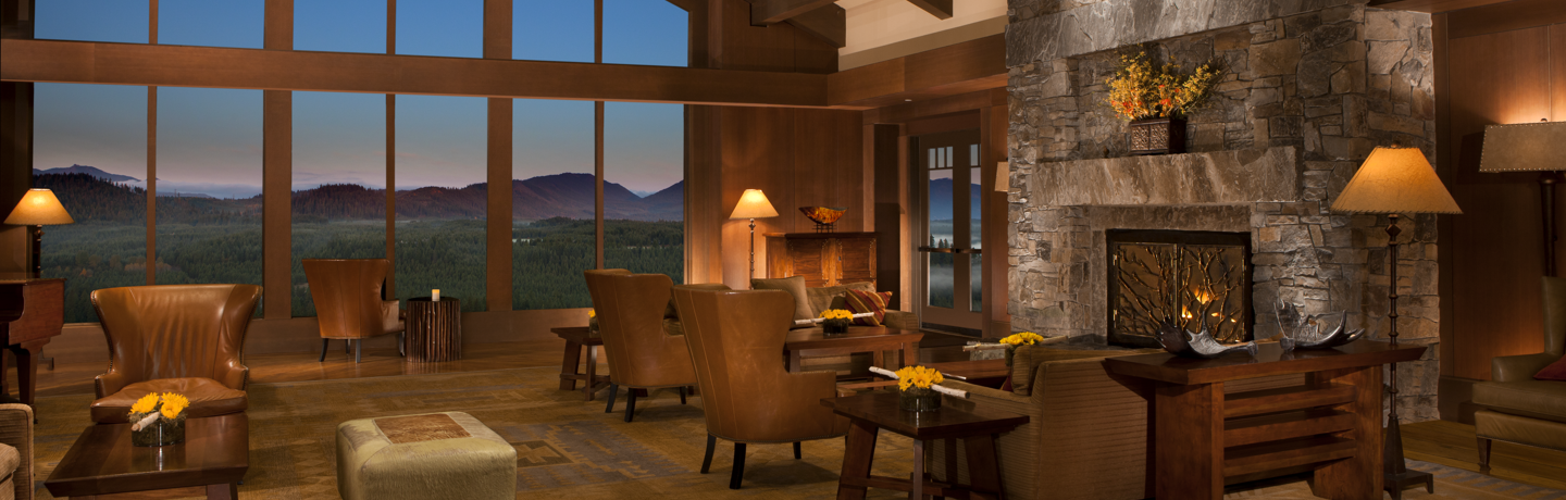 The Great Room at the The Lodge at Suncadia