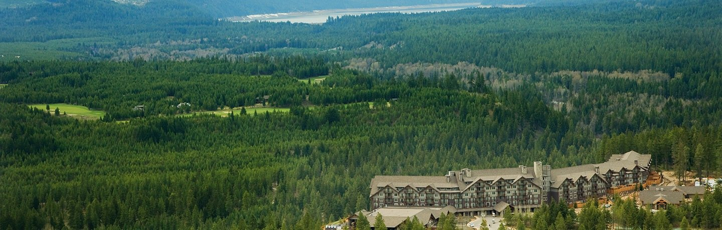 Aerial View of Suncadia Mountain Resort in Washington State