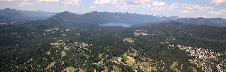 View of Cle Elum, Near Suncadia Resort in Washington