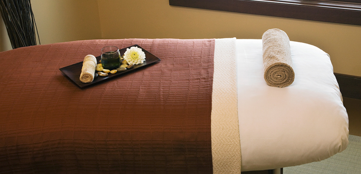 Massage Table at Suncadia Resort & Spa in Washington State
