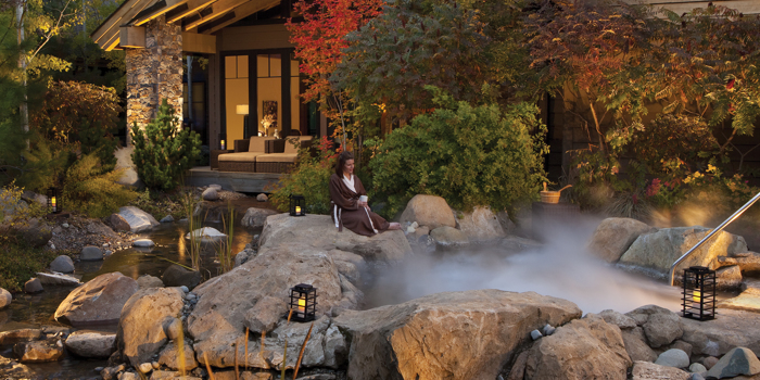 Massage at Glade Spring Spa at Suncadia Resort in Washington