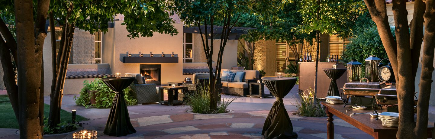 Tempe Mission Palms Meeting Buffet