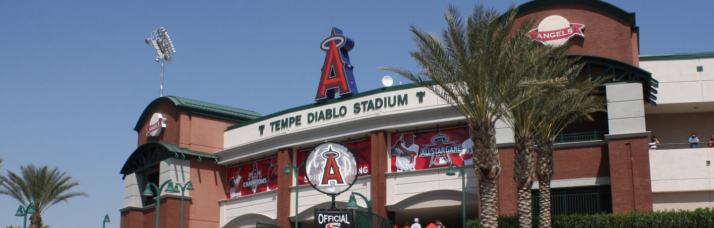 Spring Training Games in Tempe