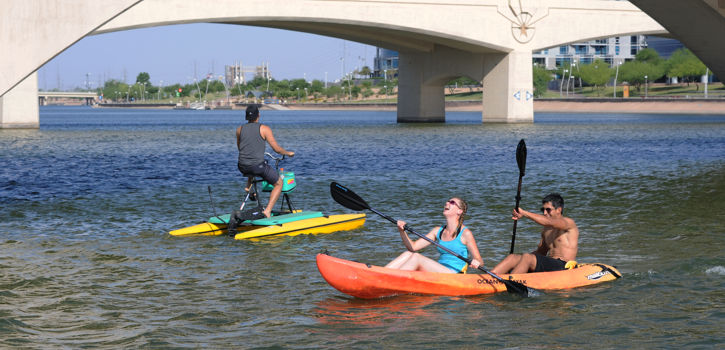 Paddle on Tempe Town Lake