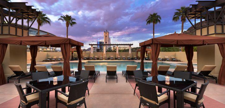 Tempe AZ Rooftop Pool