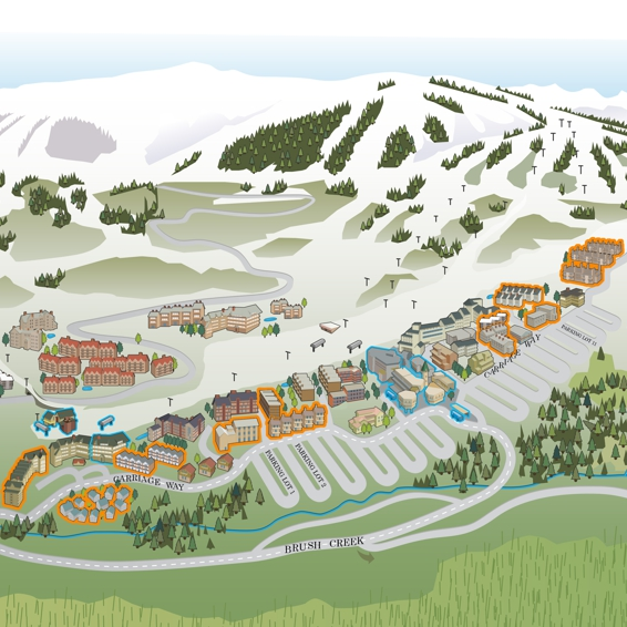 Snowmass Map