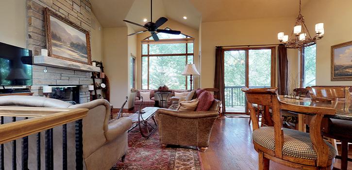 Cascades On Gore Creek Living Room