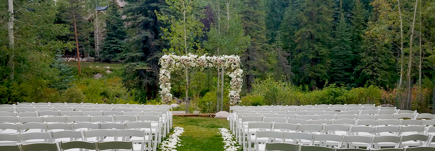 Gore Creek Wedding Venue