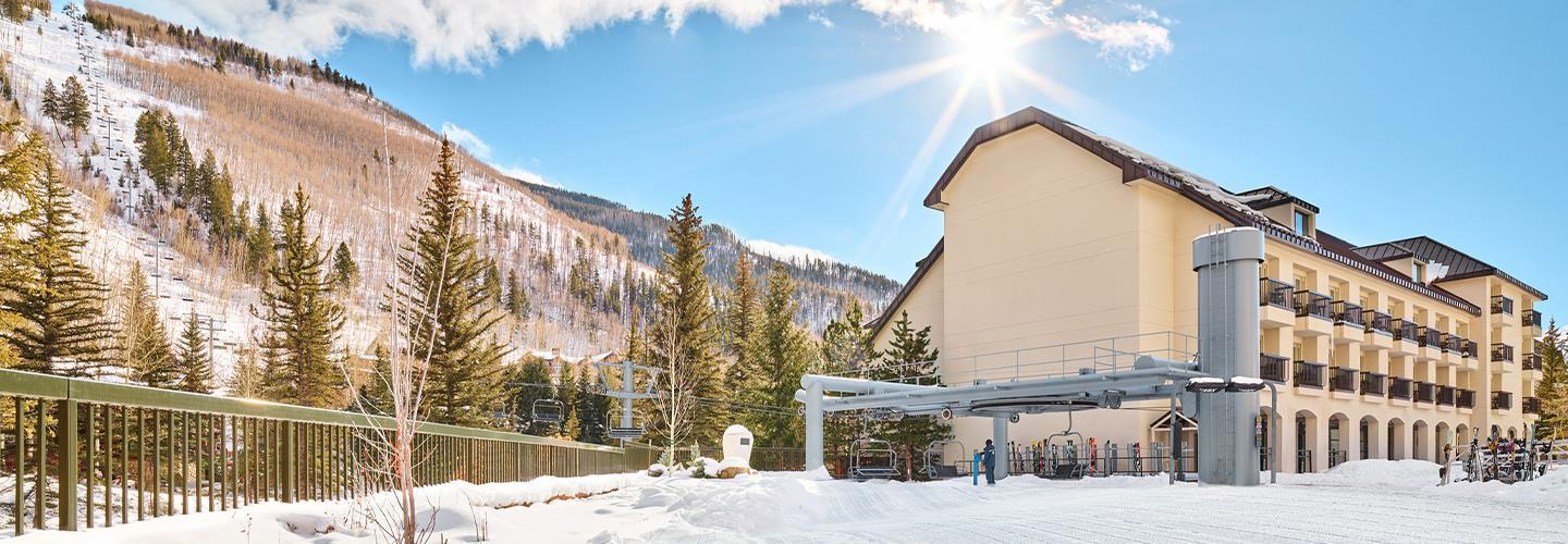 ski in to our residences