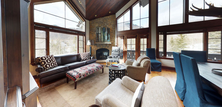 Ski Bridge North – Living Room