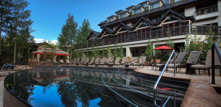 Vail Cascade Exterior Summer Pool