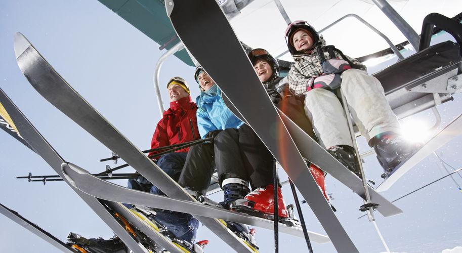Vail Cascade Recreation Winter Family Riding Ski Lift