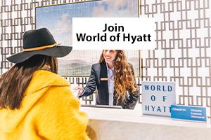 Join World of Hyatt