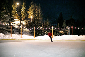 Ice Skating in Vail