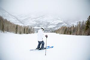 skiing Vail Mountain