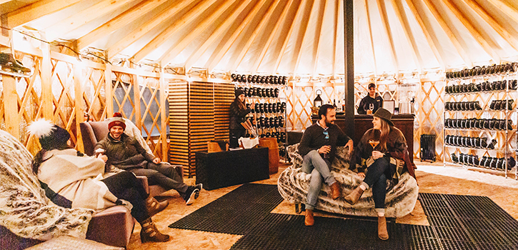 Private Yurt